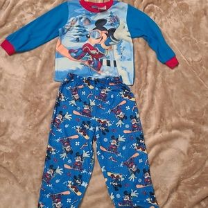 Boys Mickey Mouse PJ set size 4T